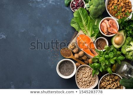 dieta · ingredientes · dois · tomates · isolado · branco - foto stock © Antonio-S