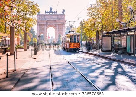 Stockfoto: Arch Of Peace Milan - Italy