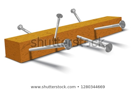 handyman nailing wood stock photo © photography33