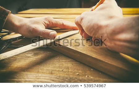 woodworker working on a board Stock photo © photography33
