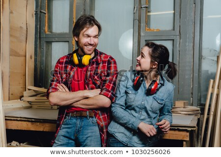 portrait of a cabinet maker stock photo © photography33