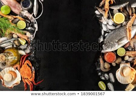 frozen hummer Stock photo © prill