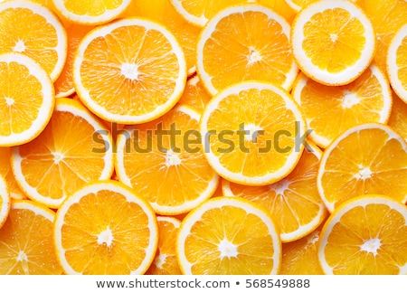 Frescos rodaja de naranja frutas fondo beber comer Foto stock © scheriton
