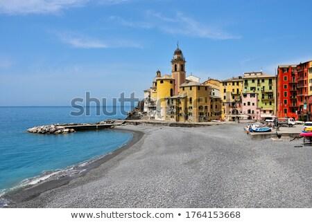 пляж Церкви известный Средиземное море морем Сток-фото © Antonio-S
