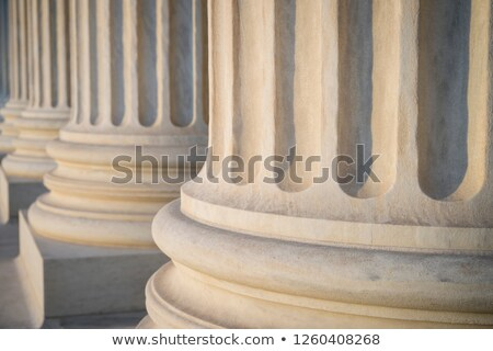 Neoclassical Columns Stock photo © pixelsnap