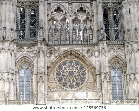 Kupola arc katedrális Spanyolország gótikus épület Stock fotó © Photooiasson