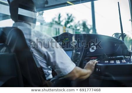 tramway driver Stock photo © photography33