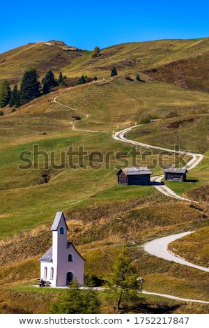 небольшой часовня Италия трава здании Сток-фото © Antonio-S
