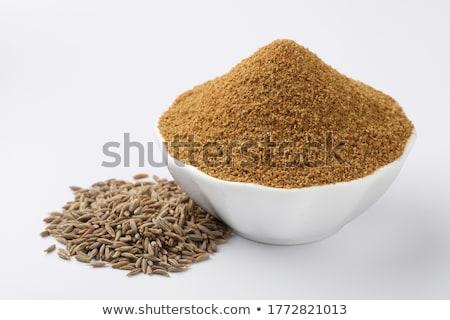 Komijn zaden voedsel restaurant Stockfoto © samsem