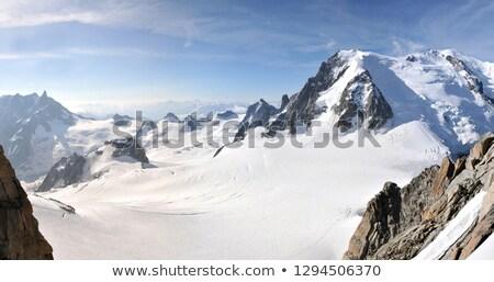 mont Blanc and Veny valley Stock photo © Antonio-S