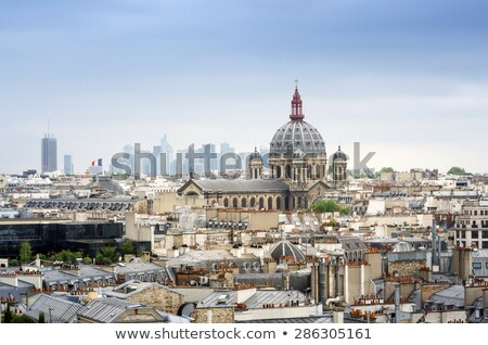 статуя · святой · дуга · базилика · Париж - Сток-фото © photocreo