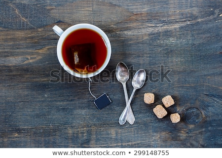 Tea in cup with anise Stock photo © elly_l