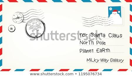 dear santa letter for santa clause stock photo © samsem