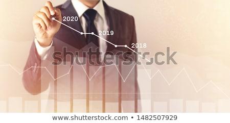 fora · negócio · visão · estratégia · corporativo - foto stock © lightsource