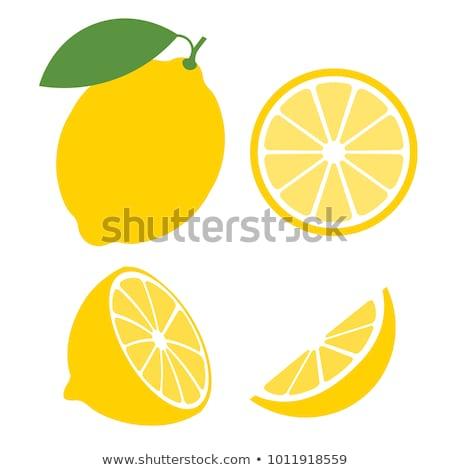 lemon illustration stock photo © upimages