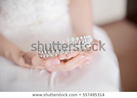 невест · тиара · обувь - Сток-фото © KMWPhotography