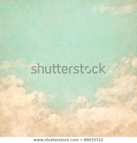 Grunge felhő klasszikus papír textúra égbolt textúra Stock fotó © Zhukow