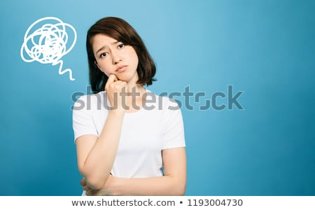 Young Woman In Agony Stock photo © williv
