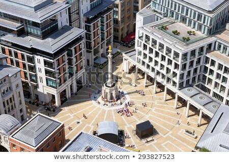 Paternoster Column in London Stock photo © chrisdorney