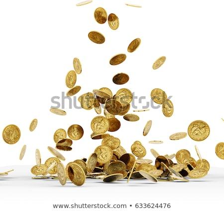 コイン 下がり 白 写真 金融 金 ストックフォト © Discovod