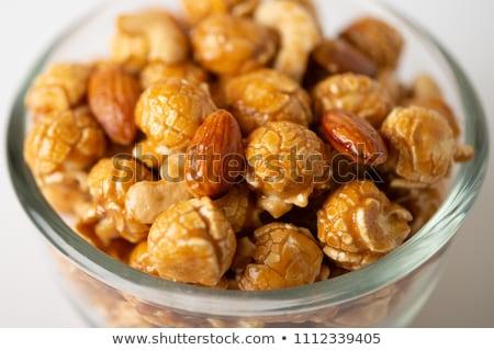 Almond salted golden bakery texture Stock photo © lunamarina
