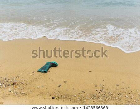 загрузка · пляж · рыбак · лодка · Балтийское · море - Сток-фото © lunamarina