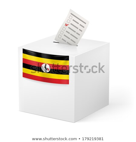 Ballot box Uganda Stock photo © Ustofre9
