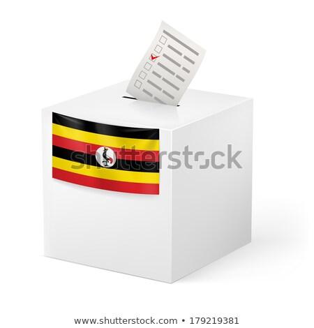 ballot box uganda stock photo © ustofre9