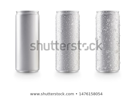 bottle of cold cola with ice on white stock photo © escander81