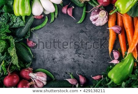 Renk sebze taze sebze personel gıda doğa Stok fotoğraf © artlens