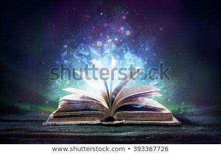 Stok fotoğraf: Open Book Magic