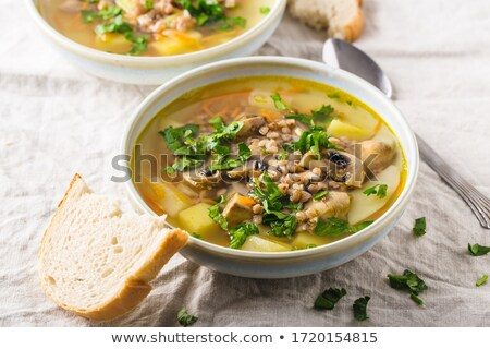 Hearty soup Stock photo © fotogal