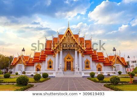 Oude tempel Thailand Bangkok gebouw Stockfoto © pzaxe