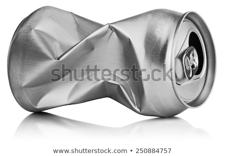 Szemeteskuka vágási körvonal szemétláda fehér szemét dekoráció Stock fotó © karammiri