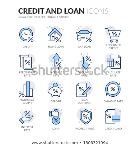 Mais dívida dinheiro ouro cifrão primeiro plano Foto stock © 3mc