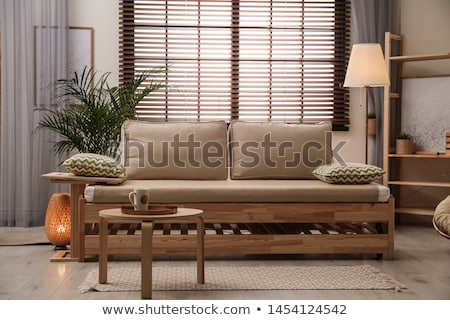 Wooden Blinds Background Stock photo © zhekos