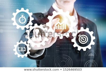 Process Management on the Gears. Stock photo © tashatuvango