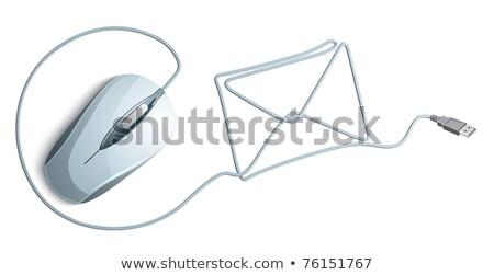 Stockfoto: Envelop · computermuis · e-mail
