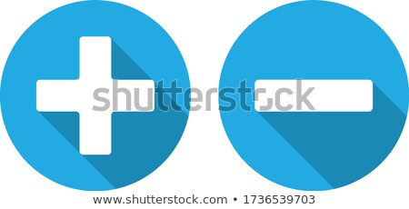 Minus Circular Vector Blue Web Icon Button Stock photo © rizwanali3d