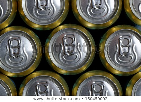 Pattern from much of drinking cans Stock photo © CaptureLight