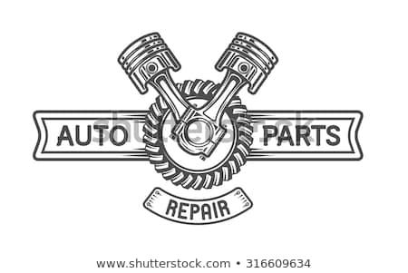 修復 ショップ 金属 歯車 メカニズム サービス ストックフォト © tashatuvango