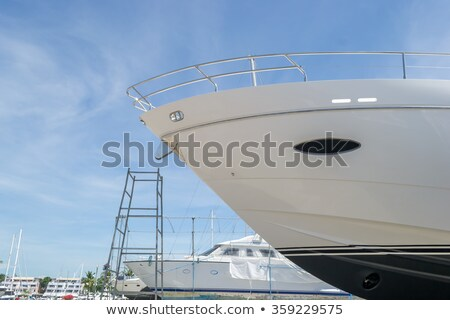 Boat Dry Dock Stock photo © rghenry