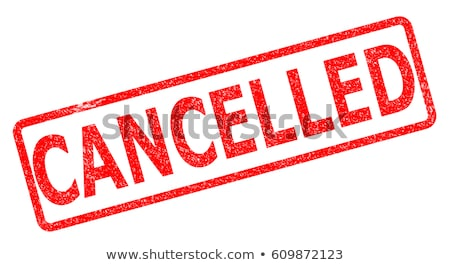 Grunge Office Stamp - CANCEL Stock photo © PokerMan