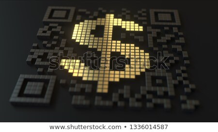 Dollar Sign on barcode Stock photo © fuzzbones0