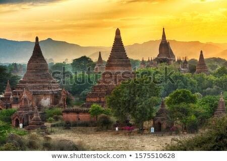 Pagoda rovine birmania frazione asian religione Foto d'archivio © smithore