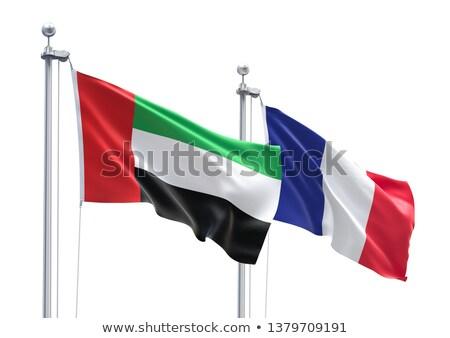 France and United Arab Emirates Flags  Stock photo © Istanbul2009
