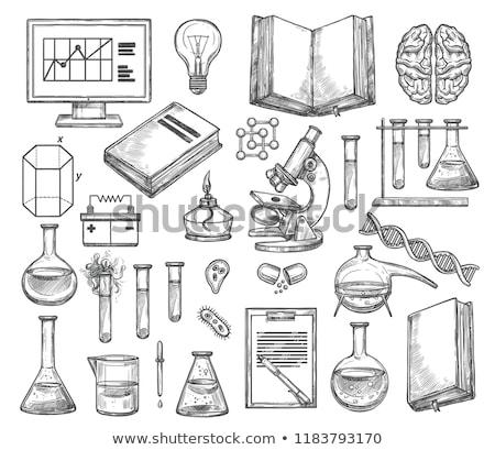 スケッチ · アイコン · ベクトル · 孤立した · 手描き · インフォグラフィック - ストックフォト © rastudio