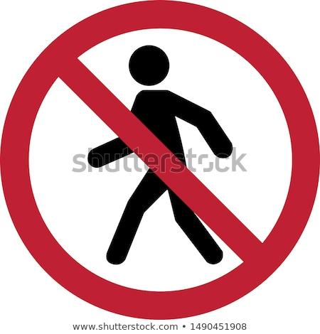 Prohibited. No pass Stock photo © artfotoss