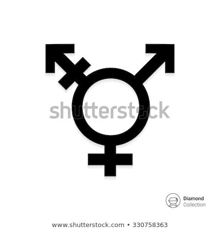 トランスジェンダー アイコン 人 男性 女性 マーカー ストックフォト © Fosin