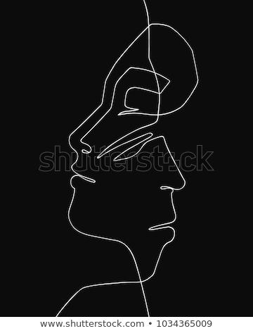 Vetor · homem · mulher · símbolos · união · original - ilustração de ... 1d3172efa5c